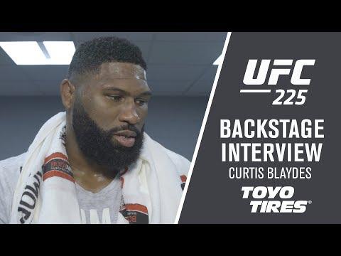 "UFC 225: Curtis Blaydes – ""I Should be Going for the Belt Next"""