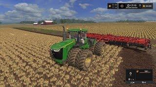 Farming Simulator 17 Timelapse #12   Lone Oak with seasons.