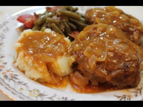 Salisbury Steak Recipe – I Heart Recipes
