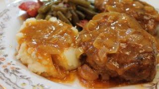 Salisbury Steak Recipe - I Heart Recipes