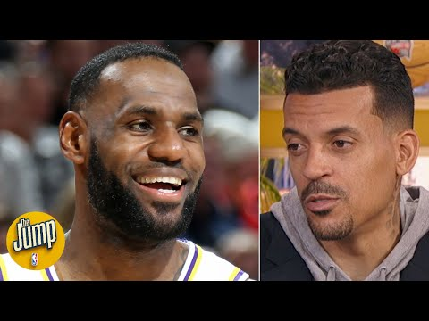 LeBron James understands his mental approach is everything for the Lakers - Matt Barnes | The Jump