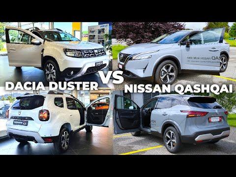 New Dacia Duster VS Nissan Qashqai 2022
