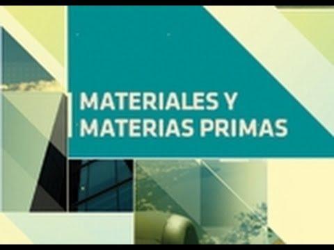 Biomateriales. Materiales y materias primas