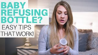 Baby Refusing Bottle? | How to Get Baby to Take a Bottle EASILY!