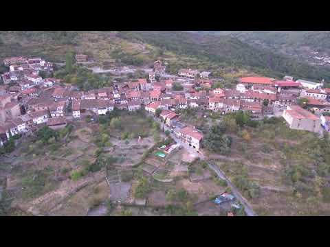 Drone Mogarraz y Monforte de la Sierra  en Salamanca España by Viajar24h 6