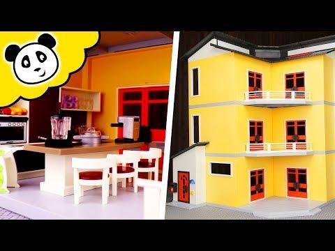 Playmobil Wohnhaus - ZWEI Luxus Küchen! Spielzeug auspacken & spielen