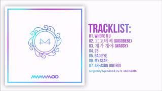 [Full Album] 마마무(MAMAMOO)   White Wind (9th Mini AIbum)