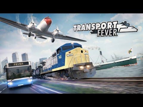 Transport Fever - Gamescom Trailer (English) онлайн видео