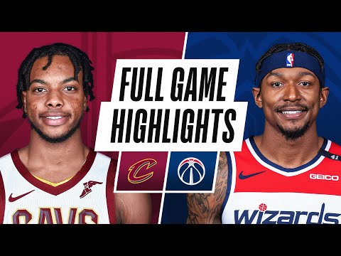 CAVALIERS at WIZARDS | FULL GAME HIGHLIGHTS | April 25, 2021