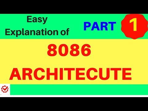 8086 Microprocessor Architecture Tutorial Video With Working Mechanism Explained Easy Way-Part 1