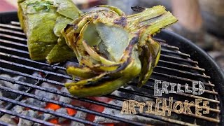 The Perfect Artichoke - How to Make Marinated Grilled Artichokes