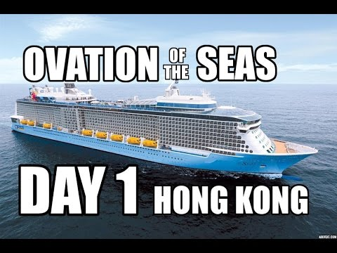 Boarding Ovation of The Seas: Royal Caribbean Cruise 2016