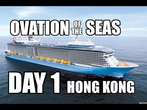 Boarding Ovation of The Seas: Royal Caribbean Cruise 2016