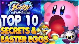 Top 10 Easter Eggs & Hidden Details in Kirby Star Allies That You Might Have Missed!