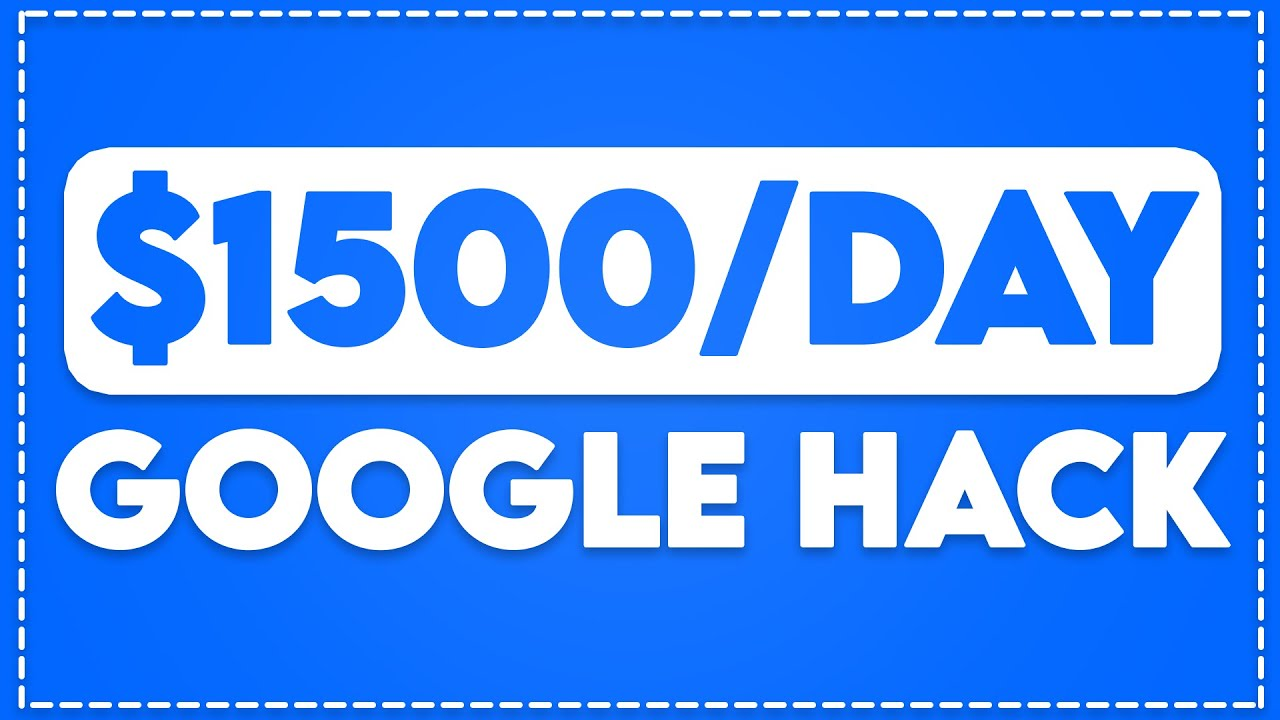 Make $1,500/Day Using FREE Google Trick! (Make Money Online) thumbnail