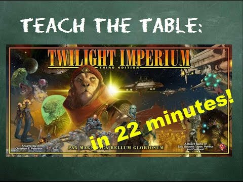 How to play Twilight Imperium (Third Edition) - Teach The Table