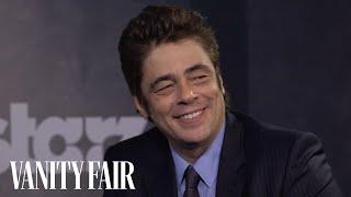 Benicio del Toro's Fans Have a Funny Way of Greeting Him - Toronto International Film Festival