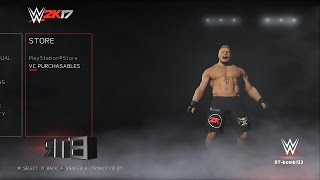 WWE 2K17 50 Menu Screen Superstar Model Animation In Game Taunts