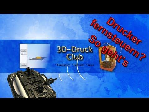 3D Druck - So kannst Du Deinen 3D Drucker überwachen und fernsteuern.  (Repetier Server Tutorial)