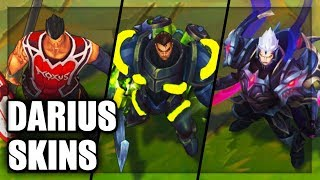 All Darius Skins Spotlight (League of Legends)