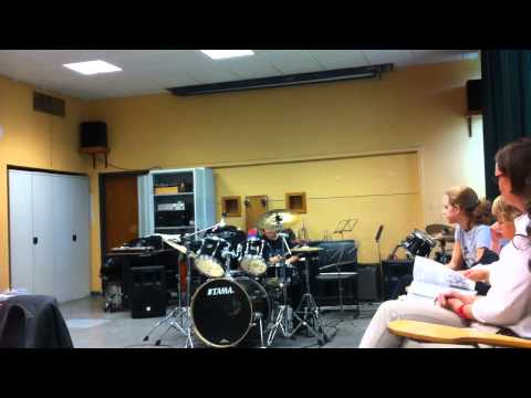 Billy Idol - L.A Woman Drum cover