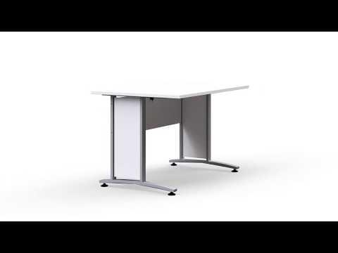 Prima Schreibtisch 120 x 80 cm Produktvideo