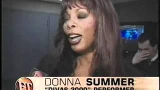 Donna Summer, Diana Ross  Entertainment Tonight [2000].mp4