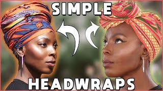 Beginner-Friendly Headwrap Tutorial | Easy-To-Follow