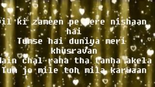 teri saason mein- full song lyrics - YouTube