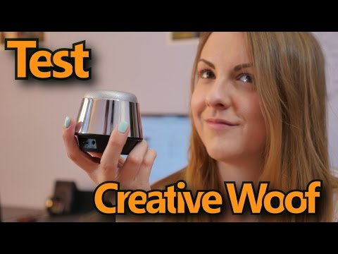 Creative WOOF  - test głośnika