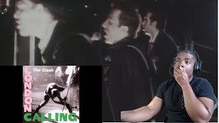 FIRST TIME HEARING The Clash- London Calling (Official Video) Reaction