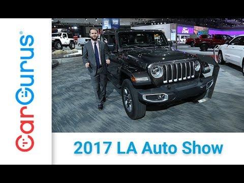 2018 Jeep Wrangler | 2017 LA Auto Show