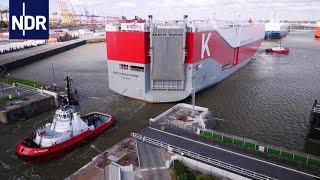Bremerhaven: Dicke Pötte an der Kaje