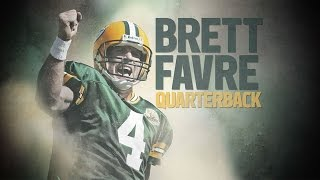 Brett Favre Career Highlights Feature | The Making of a Pro Football Hall of Famer | NFL