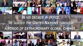 Ban Ki-moon -  10 Years Heading the United Nations