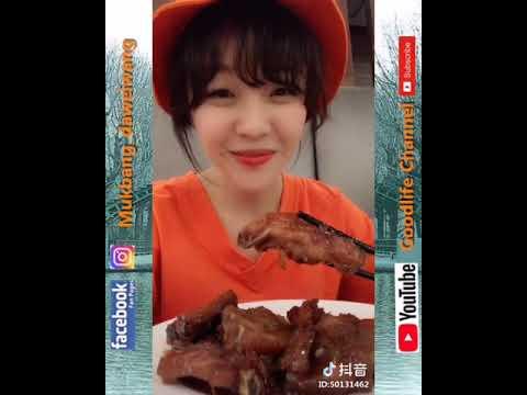 抖音 Goodlife Channel 娛樂分享 大胃mini daweiwang 吃東西不能停 #001
