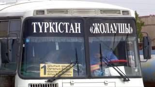 Пассажироперевозчик в Туркестане возит пассажиров за 30 тенге вместо 40