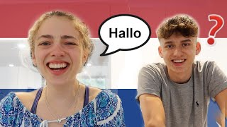 ONLY Speaking Dutch For 24 Hours: How To Learn Any Language! 🇳🇱 *with Subtitles*