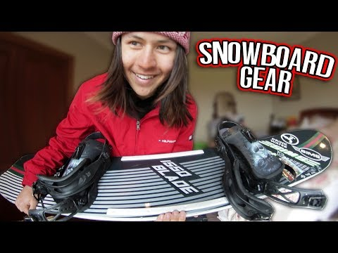 WHATS MY SNOWBOARD GEAR?
