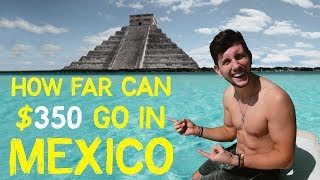 CHEAP escape from the COLD of WINTER - MEXICO on a BUDGET