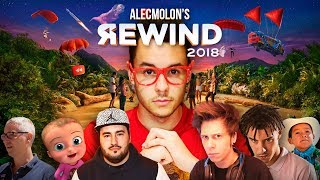 YOUTUBE REWIND HISPANO 2018 [Alecmolon]