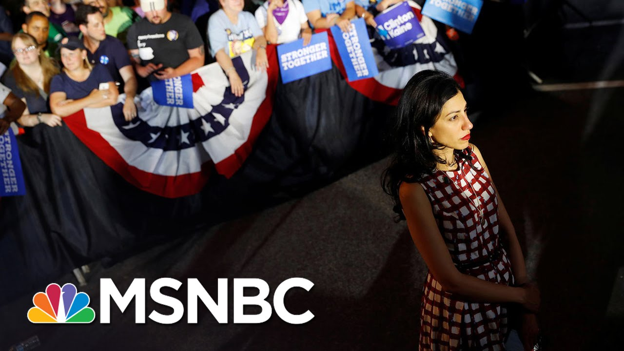 Huma Abedin Separates From Anthony Weiner | MSNBC thumbnail