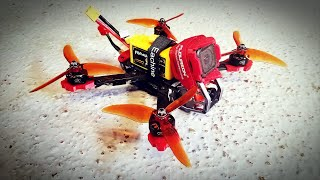 FPV cinematic with GEPRC KX5 and GoPro session 5. No video stabilization.