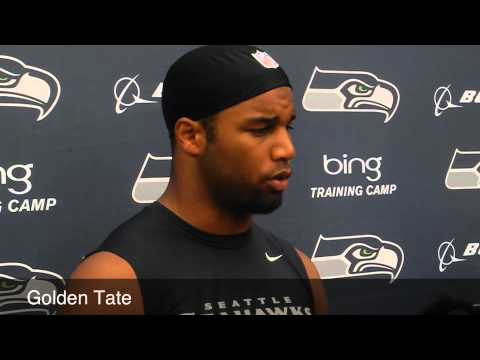 Golden Tate on Percy Harvin
