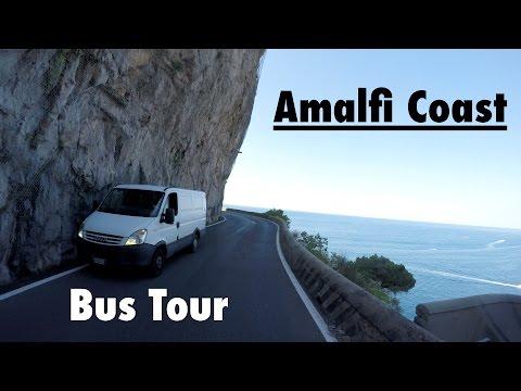 Video Bus Tour at Amalfi Coast
