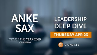 Anke Sax – German CIO Of The Year 2019 & dwpbank