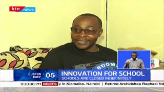 Innovation For School: Teacher convert home into a studio