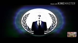 #Anonymous We Are Not Fuck'in Playing.
