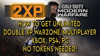 How to get Unlimited Double XP Modern Warfare