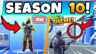 *NEW* SEASON 10 THEME ACCIDENTALLY REVEALED! (Fortnite Season 9 Update!)